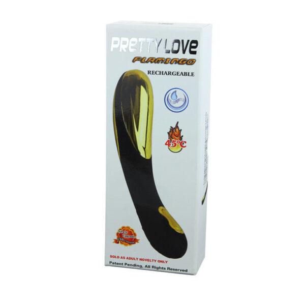 Luksuslik soojendusega vibraator Pretty Love Flamingo