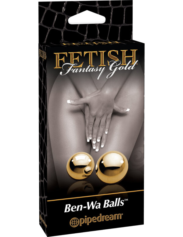 Tupekuulid Fetish Fantasy Gold (Ben-Wa Balls)