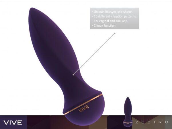 VIVE Zesiro uue põlvkonna luksusvibraator