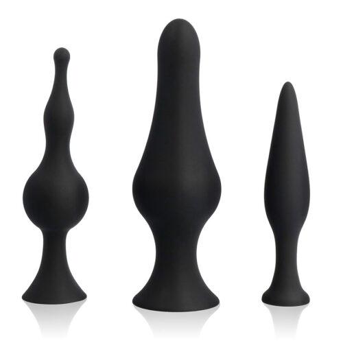 Anaaltappide komplekt treenimiseks (väike, keskmine ja suur anaaltapp)