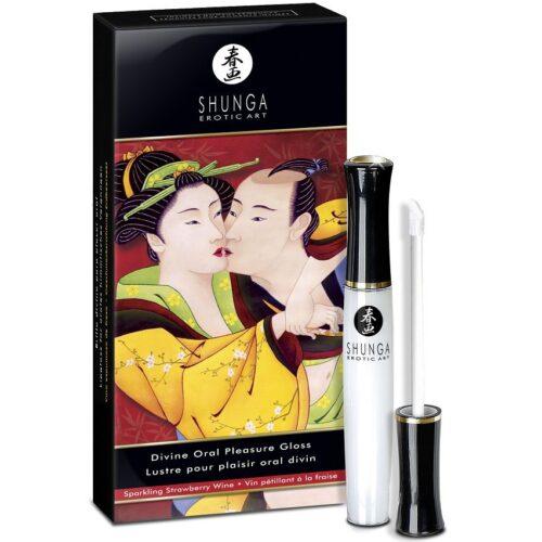 Oraalseksi võimendav Divine Oral Pleasure Gloss huuleläige (10ml)