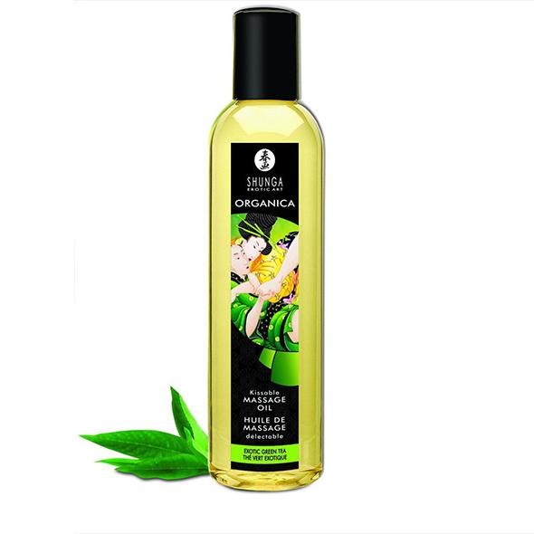 Massaažiõli Shunga Organica (exotic green tea)