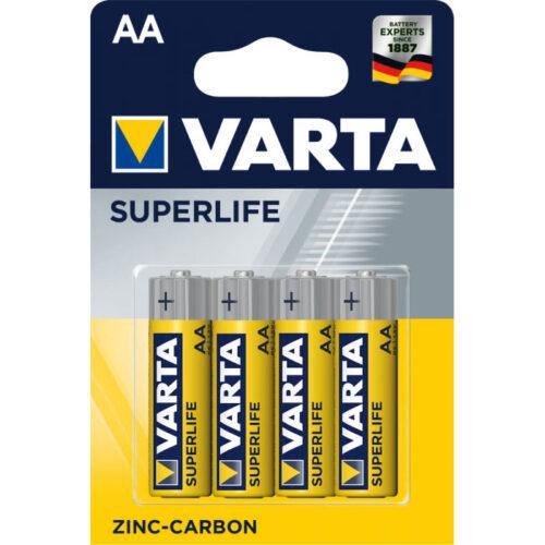 Patareid AA Varta Superlife (4 tükki)