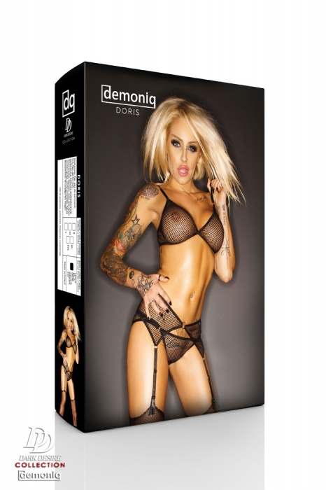 "4-osaline sekspesu komplekt Demoniq ""Doris"""