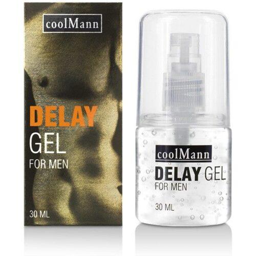 Seemnepurset edasi lükkav geel Coolman Delay Gel