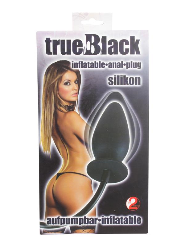 Täispuhutav anaaltapp trueBlack