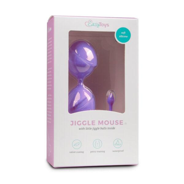 Tupekuulid Easytoys Jiggle Mouse (lilla)