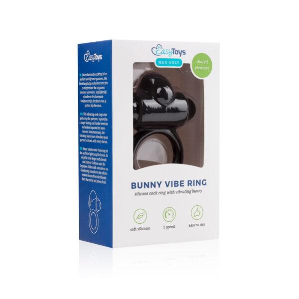 Kliitorierutiga vibreeriv peenisrõngas Easytoys Bunny Vibe Ring