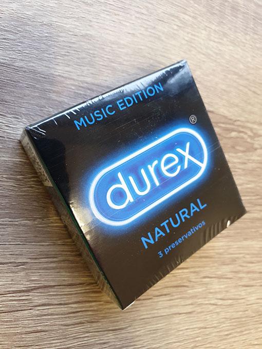 "Durex kondoomid Natural ""Music Edition"""
