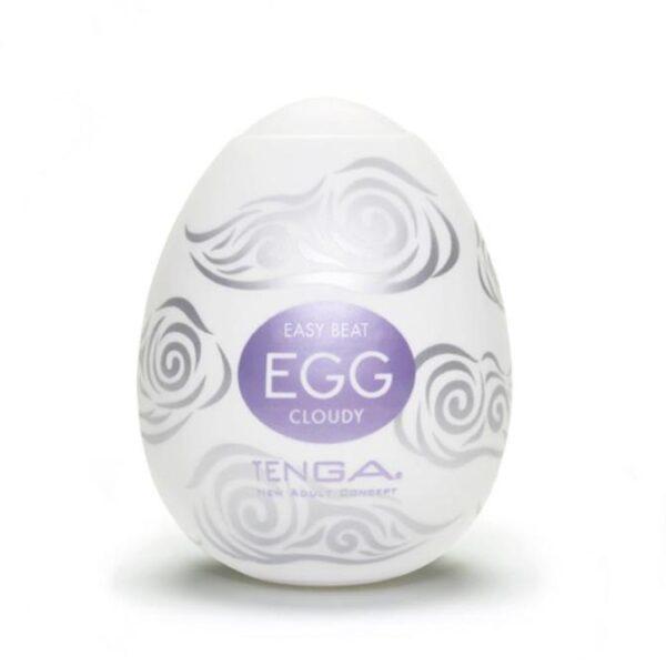 Tenga Egg Cloudy. Tootega kaasas Tenga libesti.