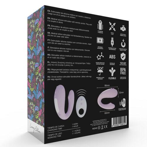 Mia Rin juhtmevaba puldiga vibraator paaridele (Luxury Edition)