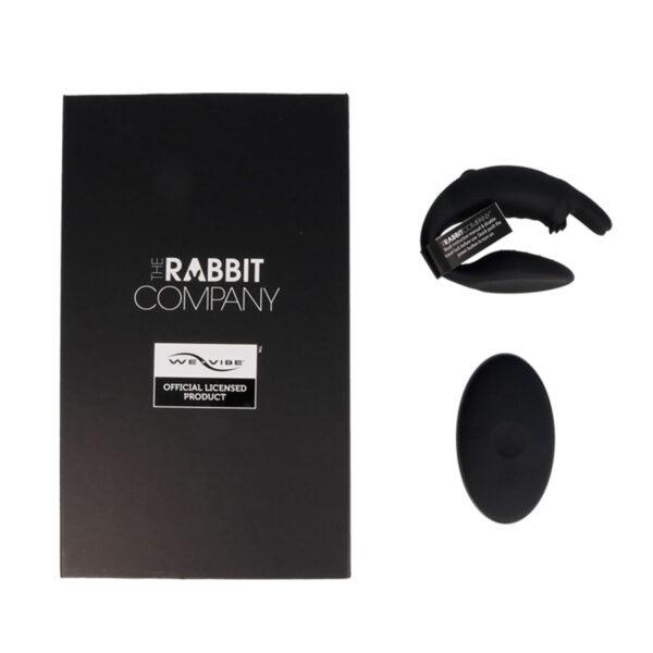 Kaugjuhitava puldiga vibraator paaridele The Couples Rabbit