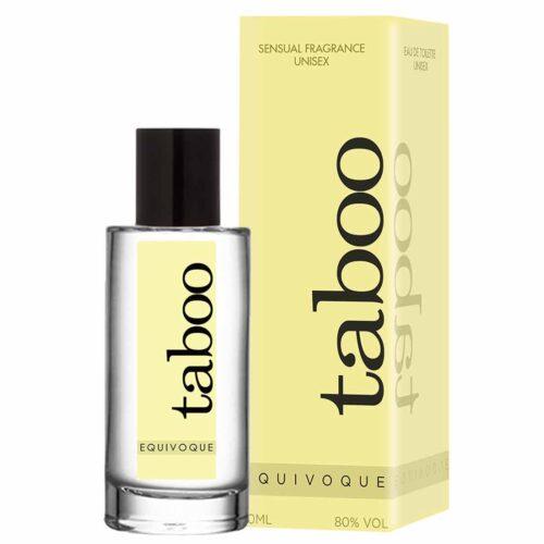 Looduslike afrodiisikutega parfüüm Taboo Equivoque mõlemile