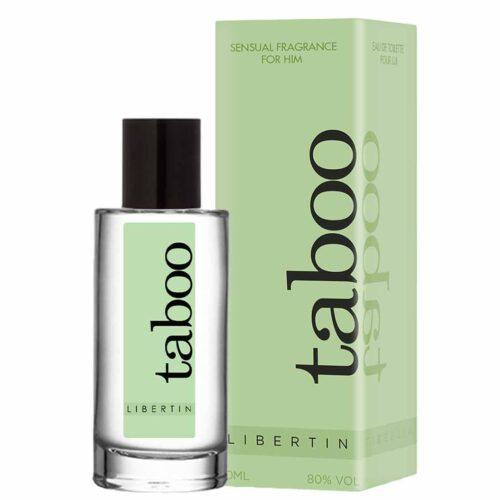 Looduslike afrodiisikutega parfüüm Taboo Libertin meestele