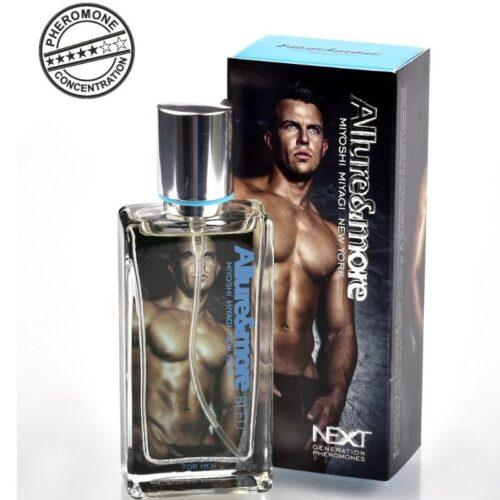 Feromoonidega meeste parfüüm Allure (greip, merenoodid, mandariin)