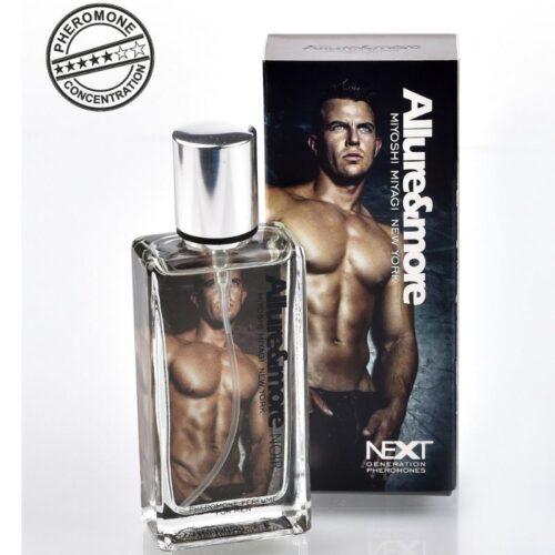 Feromoonidega meeste parfüüm Allure (tähtaniis, mandariin, seeder)