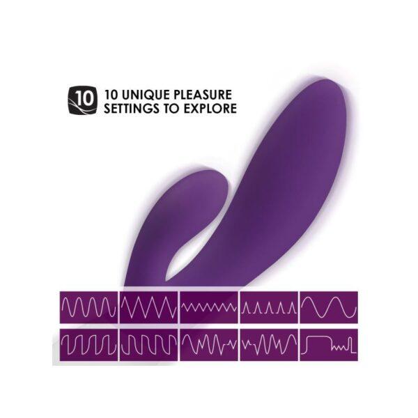 Luksuslik jänkuvibraator LELO INA Wave (ploomisinine)