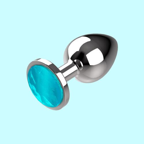 (S, M ja L). Kaasas ka hoiustamiskott ning alus kaunistatud sinise kristalliga.