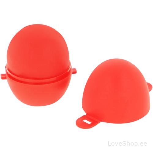 Mitmekordselt kasutatav Öhmama tekstuuriga masturbeerimise muna