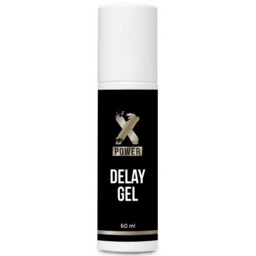 Seemnepurset edasi lükkav geel XPower Delay Gel (60 ml)